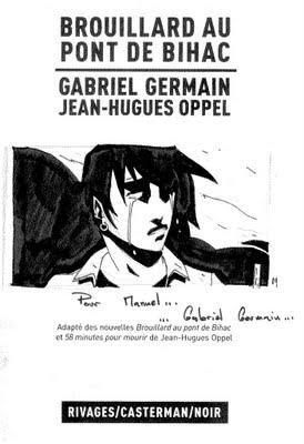 Dédicace BD du week-end : Gabriel Germain