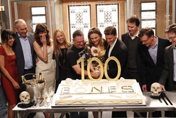 Bones ... les photos de tournage de l'épisode 100