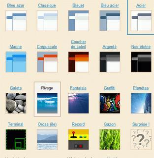 Comment changer de thèmes sous la messagerie Gmail