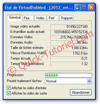 #152 Assembler 2 vidéos avec VirtualDubMod.