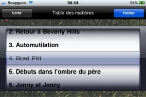 Le catalogue de Transit Editeur bientôt sur iPhone