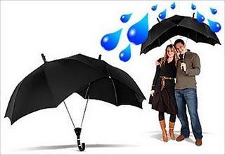 Un parapluie pour amoureux