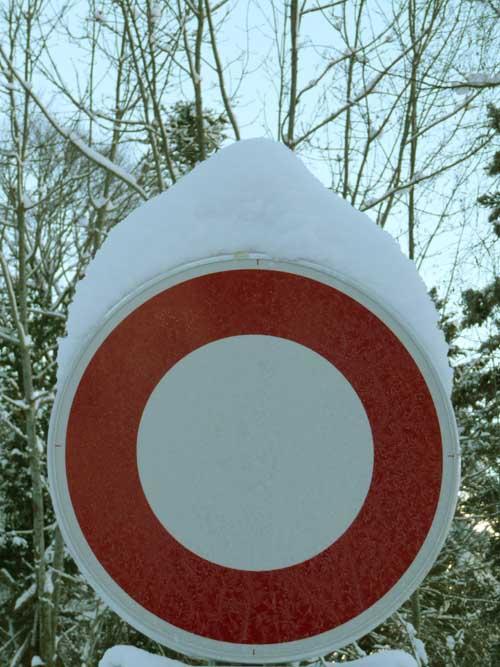 boules de neige interdites