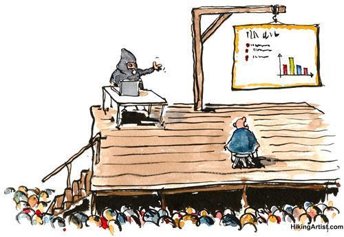 Animation d'une carte en réunion, mieux que powerpoint ?....