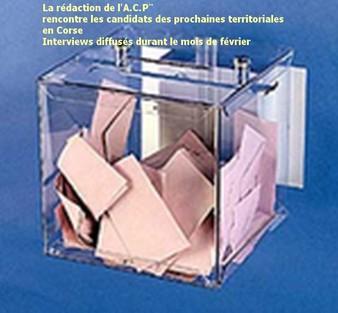 Rencontre avec tous les candidats des Territoriales 2010: Rendez-vous demain !