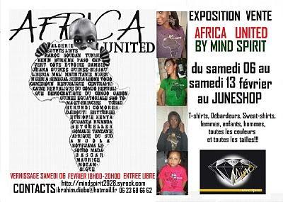 Expo ente Africa united  6 au 13 fev