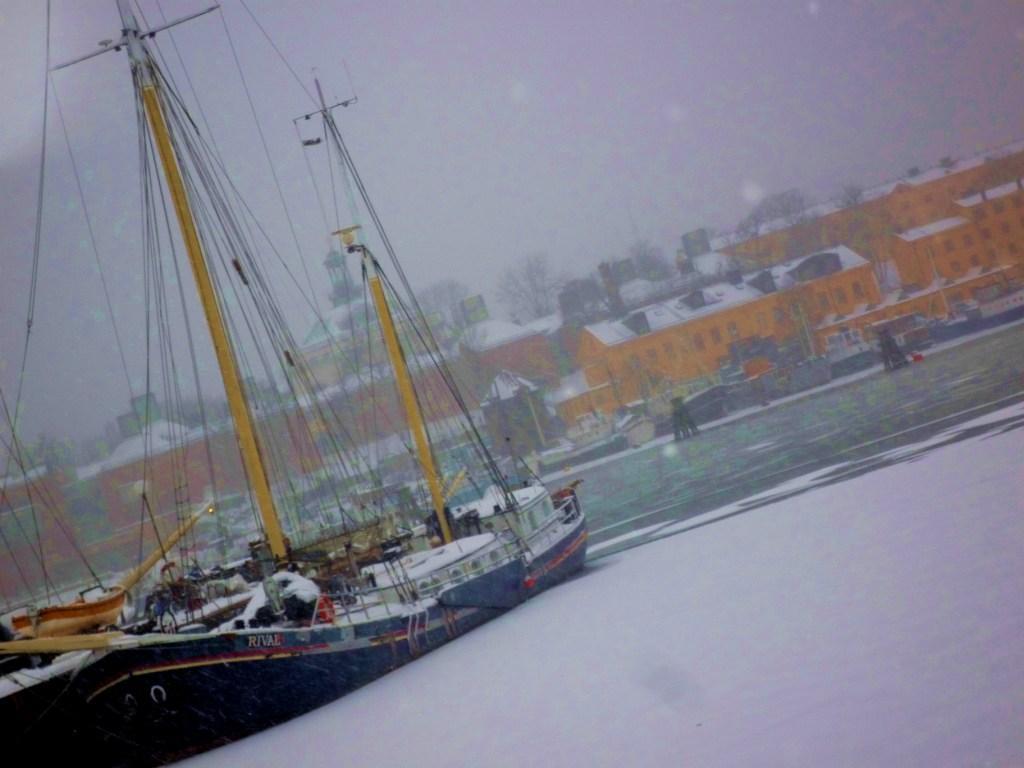 Stockholm neige janvier hiver