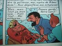 Tintin double la mise en Estonie