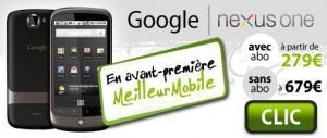 Le Google Phone disponible en France
