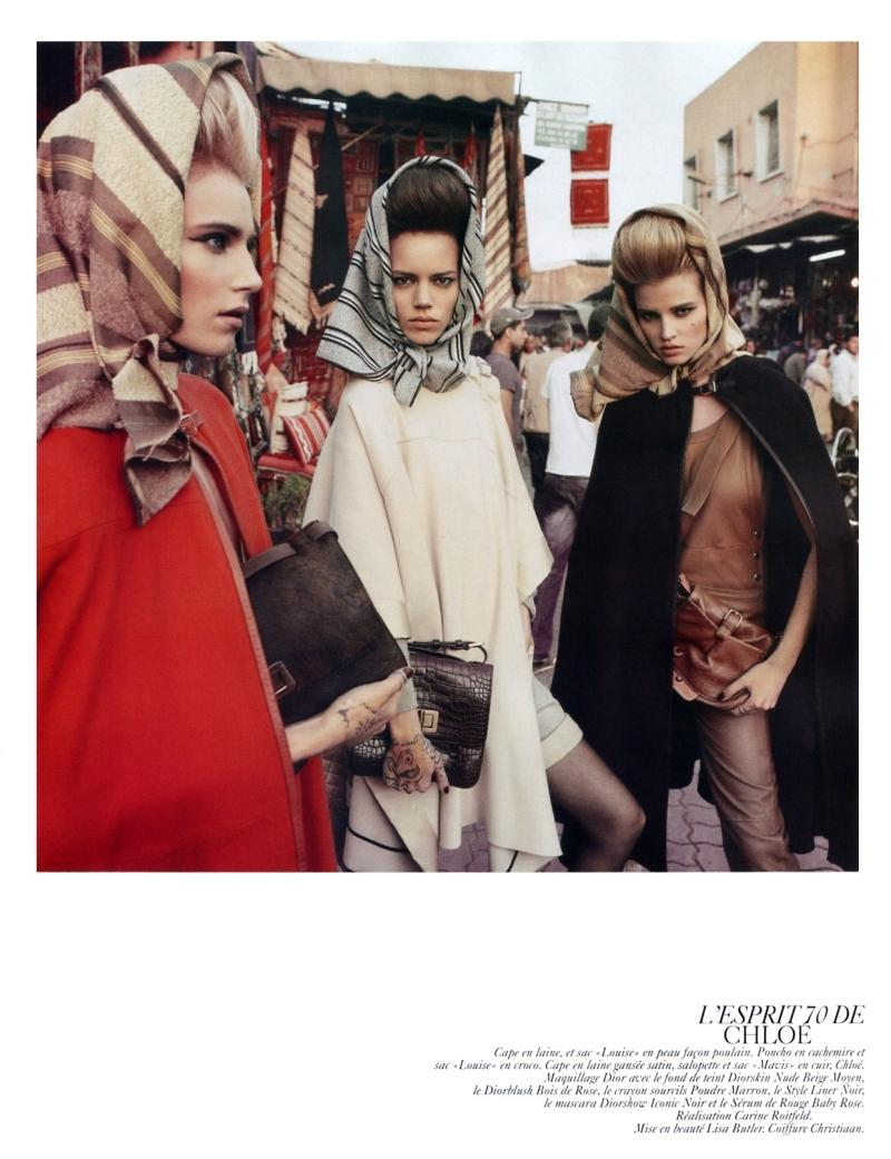 Vogue février 2010: Spécial collections! Une série...