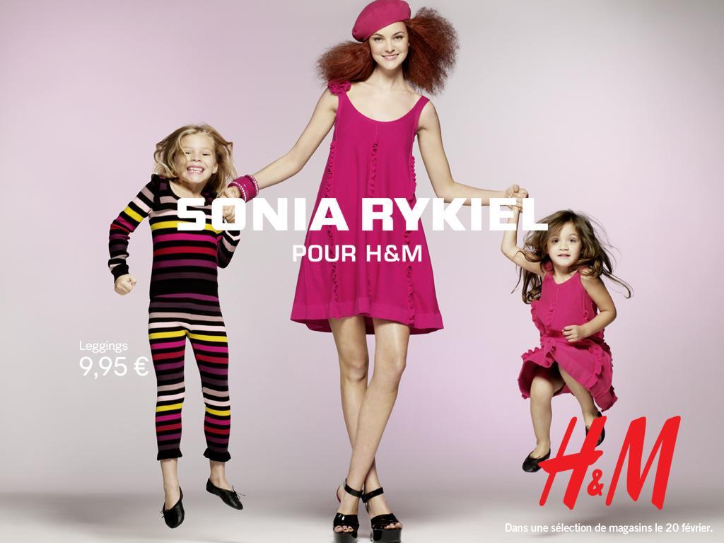 Sonia Rykiel pour H&M;, la maille!! En exclusivité...