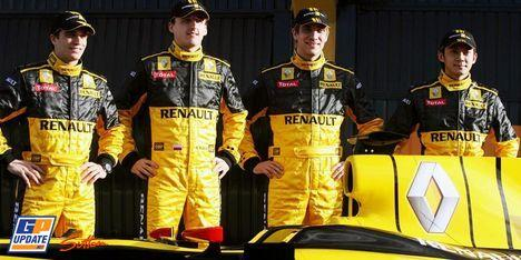 Petrov équipier de Kubica chez Renault