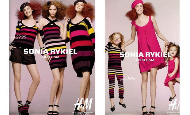 Sonia ryKIEL n'en finit plus avec H&M; pour notre grand bonheur !
