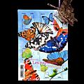 La poste met les papillons à l'honneur pour les philatélistes