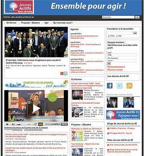Site des Jeunes Actifs des Hauts-de-Seine