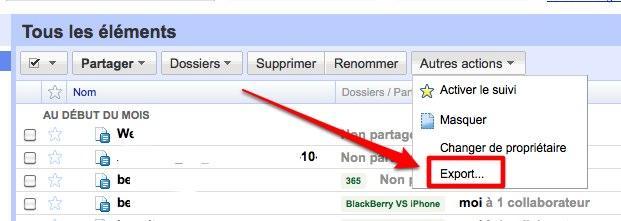 google docs export 9 astuces pour Google Documents