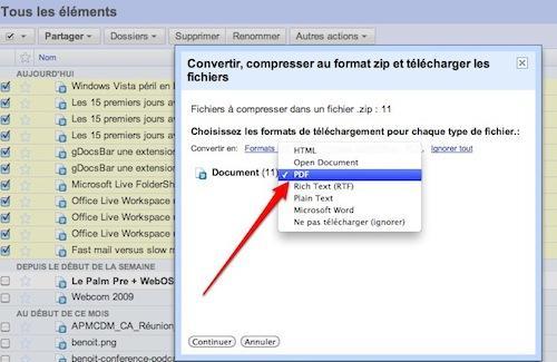 google documents pdf 2 9 astuces pour Google Documents