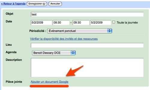 google agenda document 1 9 astuces pour Google Documents