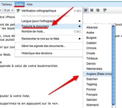 google documents traduction 9 astuces pour Google Documents