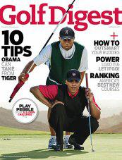 Tiger Woods as Obama's caddy.