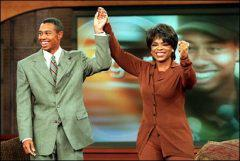 Tiger Woods on the Oprah Winfrey show