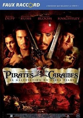 Faux Raccords, Pirates des Caraïbes.
