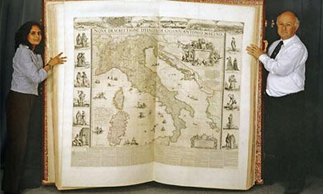 Cet été, les amateurs de cartes anciennes iront à Londres