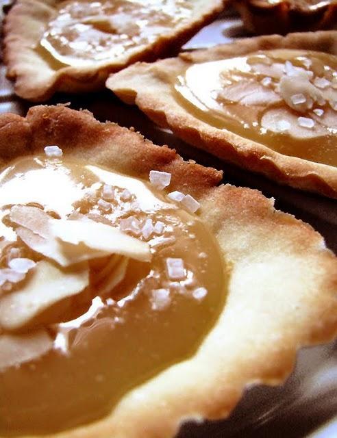 Tartelettes au caramel à la fleur d'oranger