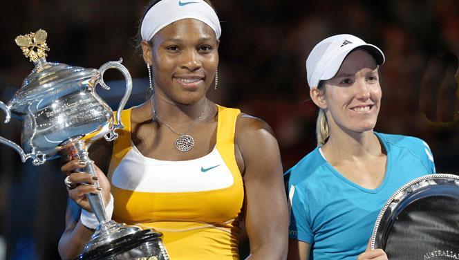 Open d'Australie 2010 ... Roger Federer et Serena Williams n°1
