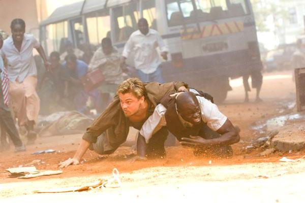 Leonardo DiCaprio et Djimon Hounsou. Warner Bros. France