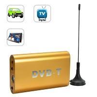 Un petit boîtier pour regarder la télé numérique dans votre voiture