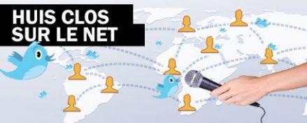 Cinq journalistes s'enferment et testent les réseaux sociaux Facebook et Twitter
