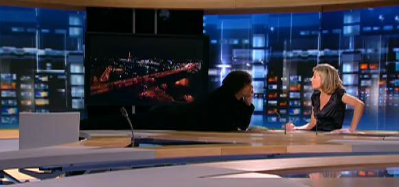 Jim Carrey fait son show au journal de TF1