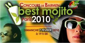Concours du meilleur mojito 2010 : un concours à ne pas manquer !