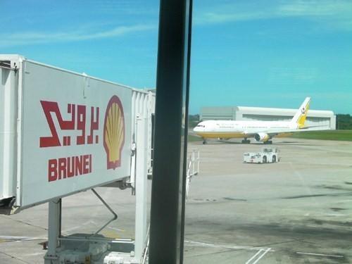 En transit : Brunei vu du ciel… et de son aéroport