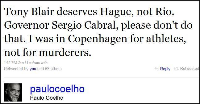 Tweet Coelho