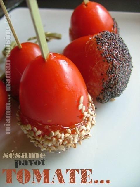 sucette tomate