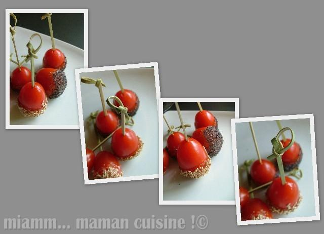 sucette tomate Affichage Web grand format