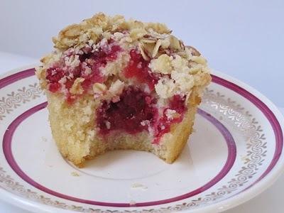 Muffins façon 'Crumble aux Framboises' (23)