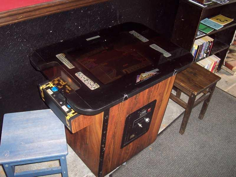Table jeu d'arcade
