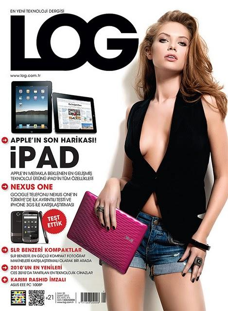 Microsoft Tag + QR Code in a turkish magazine