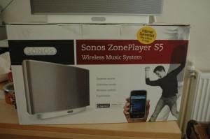 Sonos: S5, l'enceinte magique