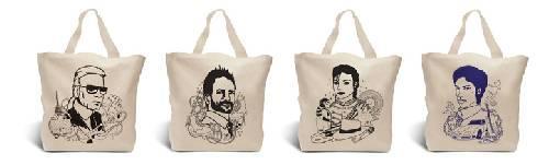 Des sacs très people !