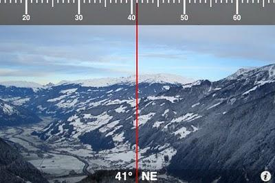 Iphone + Augmented Reality = Compass AR