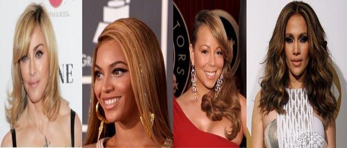 Madonna, Mimi, JLO et  Beyonce... nominées aux Razzies Awards 2010.