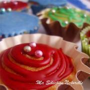 Muffins en fête au sirop de Grenade