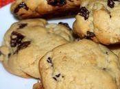 Cookies raisins, noix