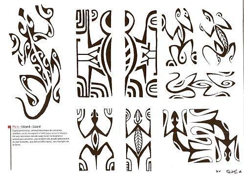 maxalae tatouage polynesien traditionnel la signification. Black Bedroom Furniture Sets. Home Design Ideas