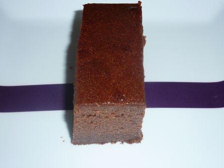 Gateau ou fondant la cr me de marrons et chocolat - Fondant chocolat creme de marron ...