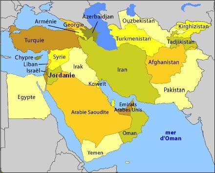 Le vent de révolte au Maghreb souffle à l'entour Moyen-orient-L-1